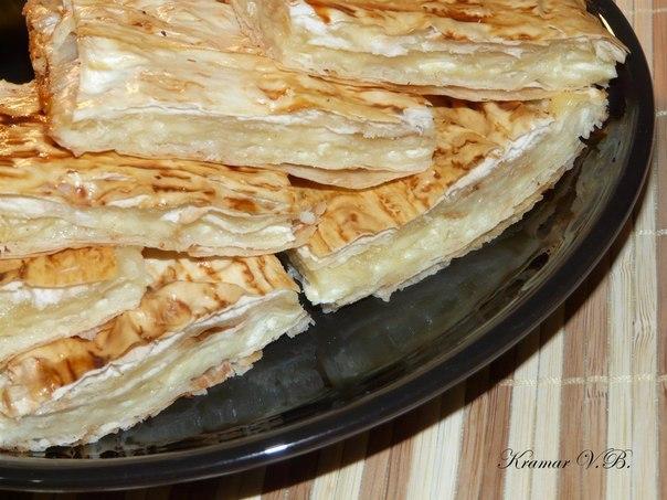 Пирог армянского лаваша рецепт с фото